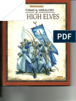 Warhammer FB - Army Essentials - Uniforms and Heraldry of the High Elves - 2012