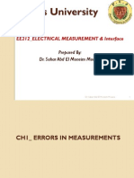 ELECTRICAL MEASUREMENT & Interface