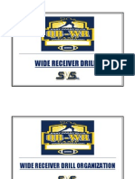 Wide Receiver Power Point Drills