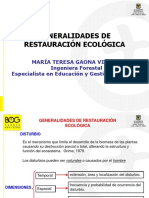 Generalidades de Restauración Ecosistemas PPT