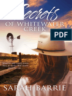 Secrets of Whitewater Creek by Sarah Barrie - Chapter Sampler