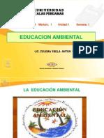 Semana 1( Educ. Ambiental, Desarrollo Sostenible, Ecologia Medio Amb.)