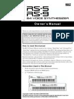 Roland RS-5 Manual Del Usuario