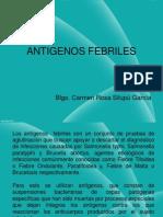 Práct 5 Antigenos Febriles