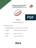 Informe Pastoral II Unidad