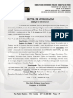 Edital de Convocação da Eleição 2015-SINDSERM/Picos