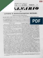 El Semanario del 20 de agosto de 1853 N° 14
