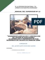 Informe N° 13 Huancan