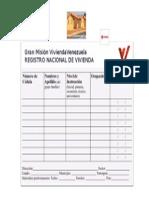 Planilla de Registro de Vivienda (2)