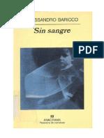 Alessandro Baricco Sangre