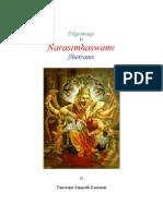 Pilgrimage to Narasimhaswami Shetrams