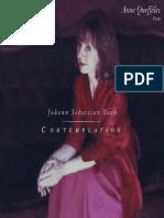BACH, J.S. Piano Music (Contemplation) (Queffélec)