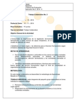 Act. 14 Trabajo Colaborativo No. 3 - 2014 - 2