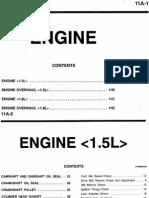 11A 1.5L engine Mirage