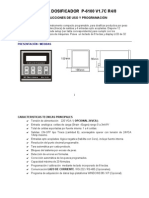 Manual Dosificador P-6100-1