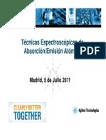 2.Técnicas Espectroscópicas de Absorción-Emisión Atómica