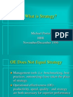 Porter - What is Strategy - HBR