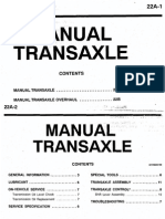22A Manual Transaxle