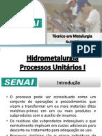 Aula 02 - Processos Unitários I
