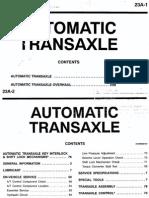 23A Automatic Transaxle