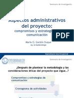 6 - Aspectos Adminstrativos Del Proyecto