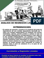 Analisis de Regresion Lineal Simple Lfvg