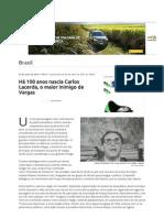 Há 100 Anos Nascia Carlos Lacerda, o Maior Inimigo de Vargas - Terra Brasil - Pags 01 e 02