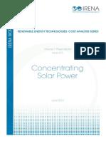 Technologies Cost Analysis-csp
