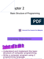 2 - Structure of Programming