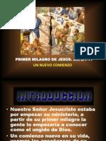 """MILAGROS DE JESUS N 3 """"EL PRIMER MILAGRO DE JESUS"""""""