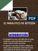 """MILAGROS DE JESUS N 5 'EL PARALITICO DE BETESTA"""""""