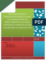 Introducción Errores de Medicacionm