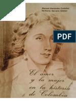 El Amor y La Mujer en La Historia de Colombia - Manuel Menendez