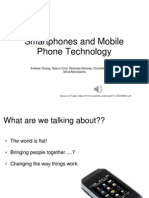 smartphones and mobile phone technology 1