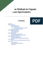 Ionisation Methods of Mass Spectrometry-2
