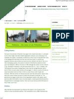 (Pakistan – Air Pollution _ Green Living Association)