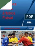Senales de Los Arbitros Futbol Sala Fifa