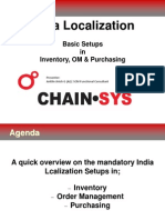 I Oracle India Localization