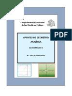 Apuntes de Geometria Hiperbola Todos