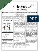 December Focus