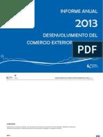 Desenvolvimiento Del Comercio Exterior Pesquero 2013