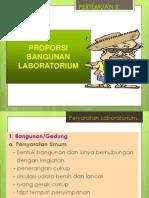 9.Proporsi Bangunan Lab
