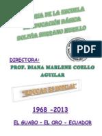 Historia de La Escuela Bolivia Serrano Murillo