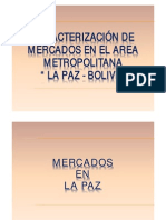 MERCADOS DE LA PAZ BOLIVIA