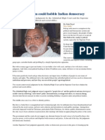 Judicial Activism Could Hobble Indian Democracy