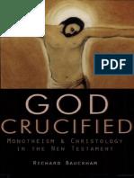 El Dios crucificado