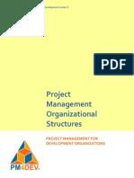 PM4DEV Project Management Structures