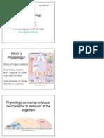 BIO 3200 - Human Physiology Lct 1 - Ch1-5
