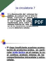7 DEFECIENCIA CIRCULATORIA