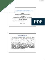 Estructuras Cristalinas Clase